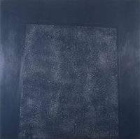 Inside Outside #11, acrylic and diamond dust on canvas, 2002